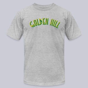 Golden Hill San Diego  - Men's T-Shirt by American Apparel