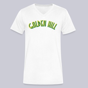 Golden Hill San Diego  - Men's V-Neck T-Shirt by Canvas