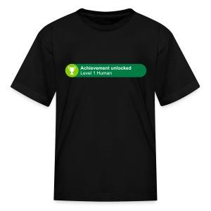 Achievement Level 1 Human - Kids' T-Shirt
