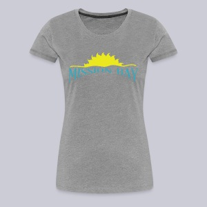 Misson Bay San Diego  - Women's Premium T-Shirt