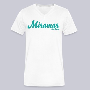 Miramar San Diego  - Men's V-Neck T-Shirt by Canvas