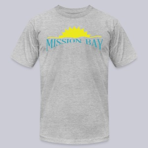 Mission Bay San Diego  - Men's T-Shirt by American Apparel