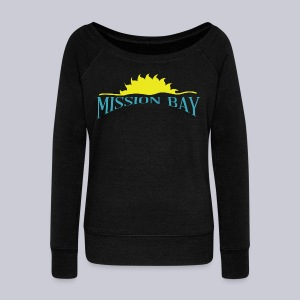 Mission Bay San Diego  - Women's Wideneck Sweatshirt