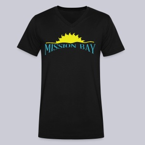 Mission Bay San Diego  - Men's V-Neck T-Shirt by Canvas