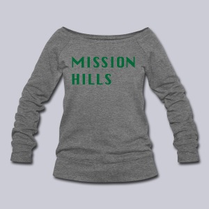 Mission Hills San Diego  - Women's Wideneck Sweatshirt