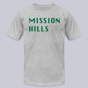 Mission Hills San Diego  - Men's T-Shirt by American Apparel