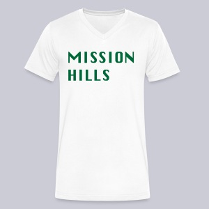 Mission Hills San Diego  - Men's V-Neck T-Shirt by Canvas
