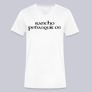 Rancho Penasquitos  - Men's V-Neck T-Shirt by Canvas