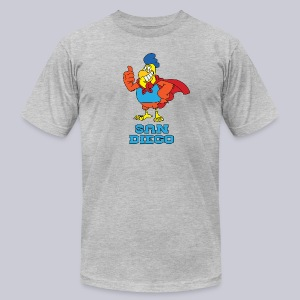 San Diego Chickens  - Men's T-Shirt by American Apparel