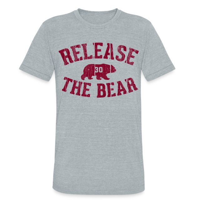Release the Bear - UNISEX Grey Tri-Blend