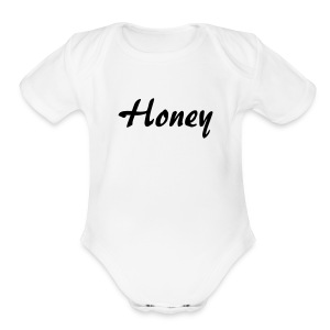 Honey - Short Sleeve Baby Bodysuit