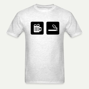 Beer & Smoke - Men's T-Shirt