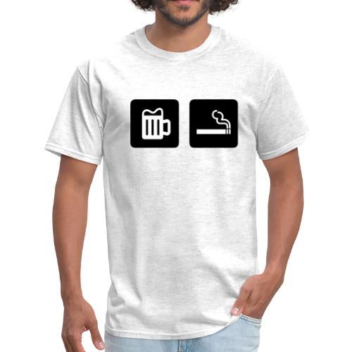 Beer & Smoke - Men's T-Shirt