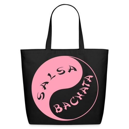 Salsa/Bachata Bag (Pink) - Eco-Friendly Cotton Tote
