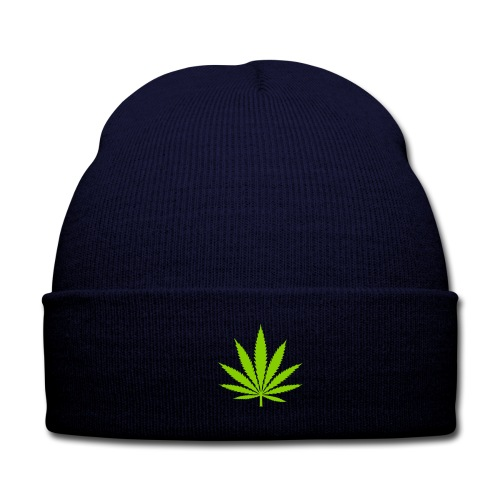 ☆420☆ Beanie - Knit Cap with Cuff Print