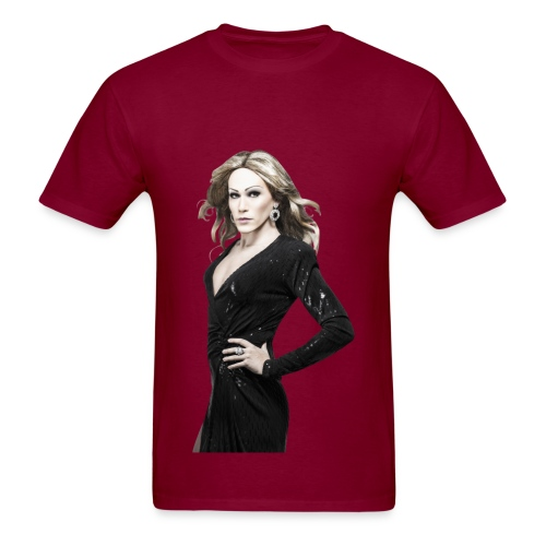 Men's T-Shirt - Jimmy Moore・Professional impersonator・www.jimmymoore.ca・ For all special requests (colors, products,etc) artistemoore@gmail.com
