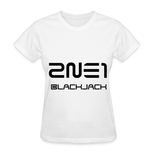 2NE1 - Blackjack - Women's T-Shirt