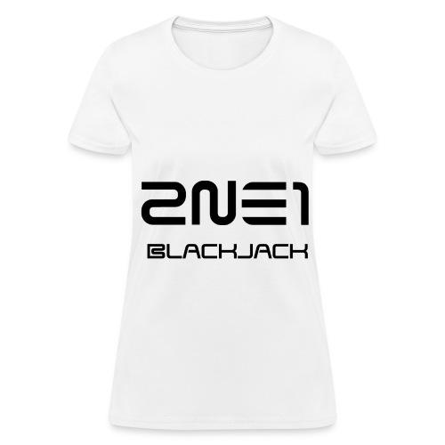 2NE1 - Blackjack - Women's T-Shirt