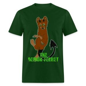 Demon Ferret - Men's T-Shirt