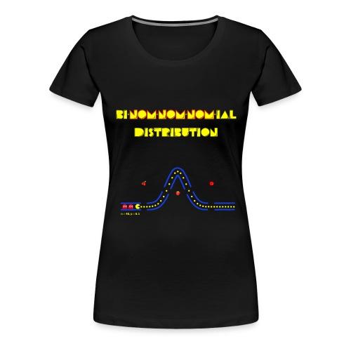Bi-nom-nom-nom-ial -- Tee - Women's Premium T-Shirt