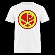 T-Shirts ~ Men's T-Shirt ~ Chi Rho Hero Shirt