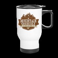 Mugs & Drinkware ~ Travel Mug ~ Mountain Country Shooter