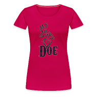 T-Shirts ~ Women's Premium T-Shirt ~ doe t (PREMIUM)