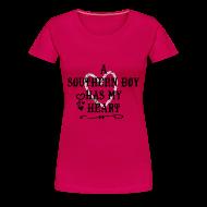 T-Shirts ~ Women's Premium T-Shirt ~ has my heart (PREMIUM)