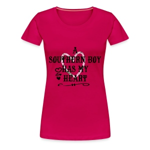 has my heart (PREMIUM) - Women's Premium T-Shirt