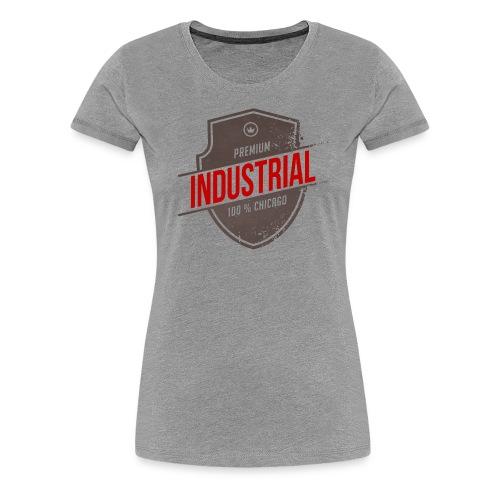 Womens Industrial T - Women's Premium T-Shirt