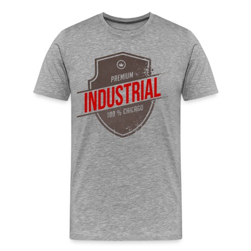 Mens Industrial T - Men's Premium T-Shirt