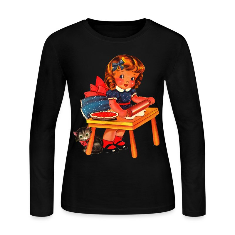 Dolly Kitchen - Women's Long Sleeve Jersey T-Shirt