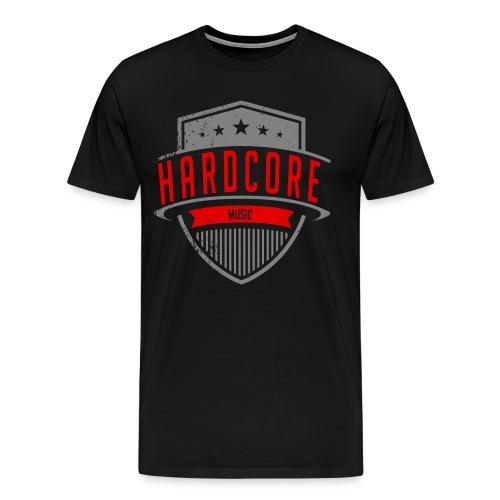 Mens Hardcore T - Men's Premium T-Shirt