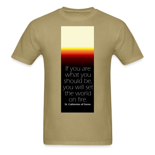 Set The World On Fire Tee - Men's T-Shirt