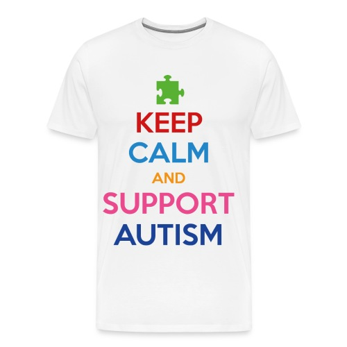 Autism Awareness - Men's Premium T-Shirt