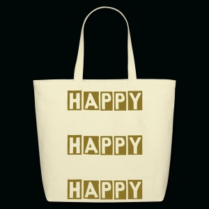 HAPPY HAPPY HAPPY - Eco-Friendly Cotton Tote
