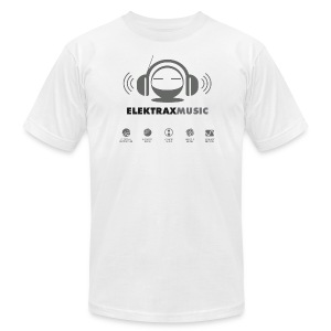 Elektrax Music Shirt - Men's T-Shirt by American Apparel