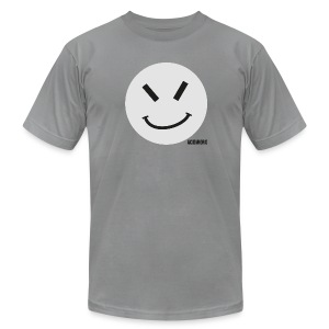 ACIDWORX GREY - Men's T-Shirt by American Apparel