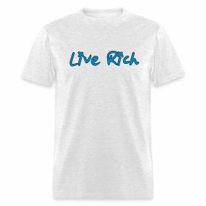 Live Rich Signature - Men's T-Shirt