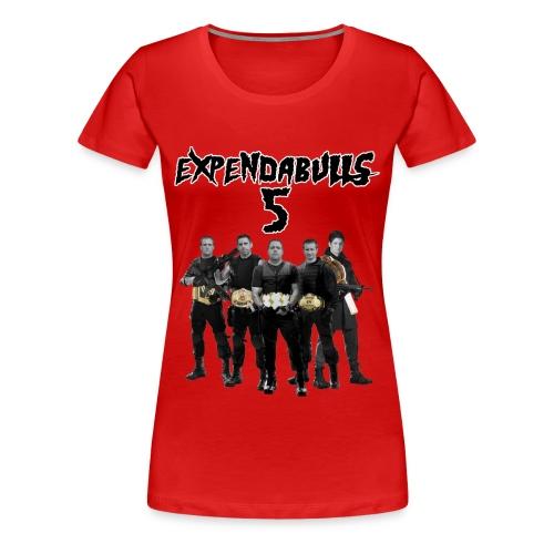 ExpendaBulls 5 - 2014 - Ladies - Women's Premium T-Shirt