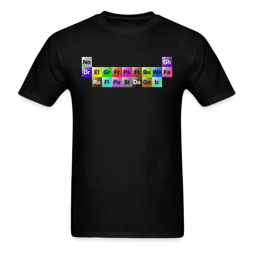 Periodic Types (Men's) - Men's T-Shirt