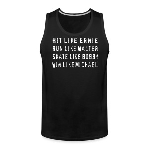 South Hit Run Skate Win - Men's Premium Tank