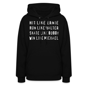 North Hit Run Skate Win - Women's Hoodie