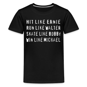 North Hit Run Skate Win - Kids' Premium T-Shirt