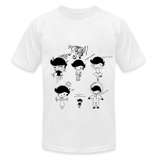 The World of Marlow - Men's Fine Jersey T-Shirt
