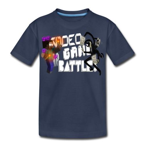 Kid's Slenderman vs. Herobrine Shirt - Kids' Premium T-Shirt