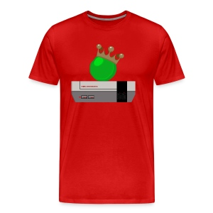 GIANT ROYAL PEA, NES - RED - Men's Premium T-Shirt