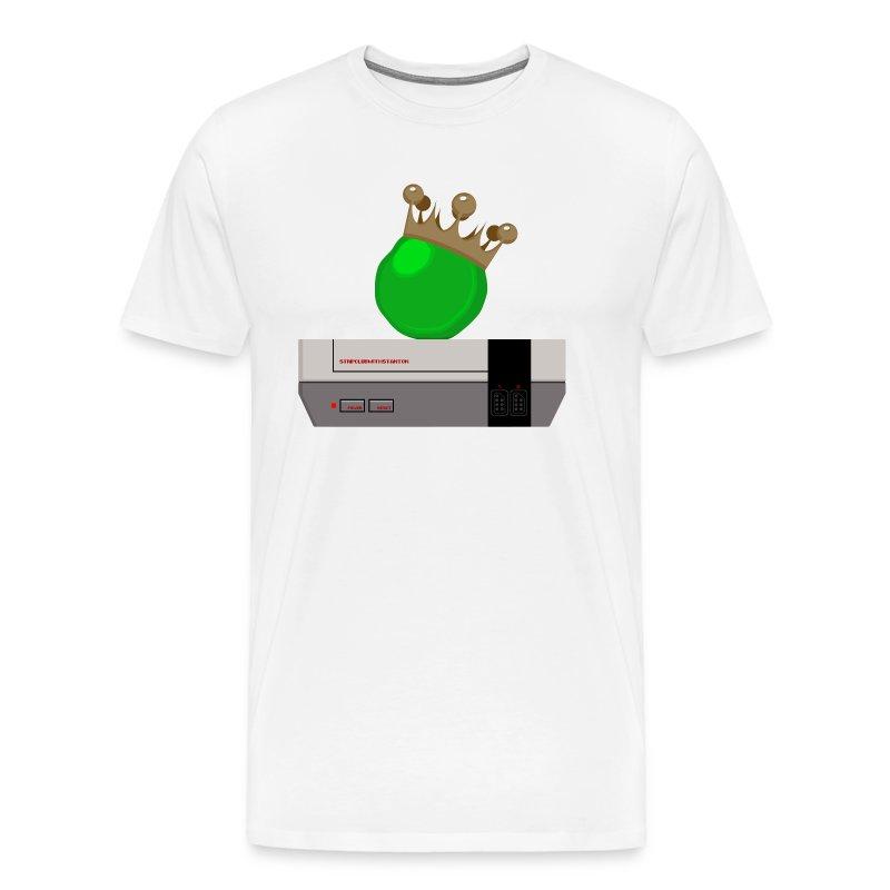 GIANT ROYAL PEA, NES - HOME - Men's Premium T-Shirt