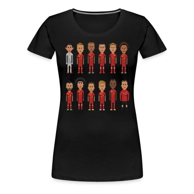 Women T-Shirt - 8bit-Football.com.BE