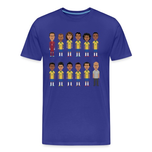 Men T-Shirt - 8bit-Football.com.BR - Men's Premium T-Shirt